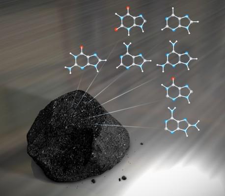DNK iz meteora, kako ga vide NASA umetnici