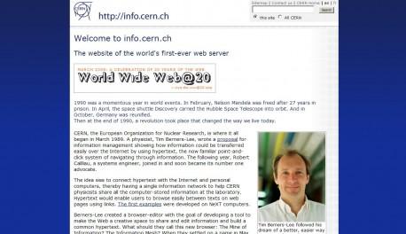 info.cern.ch/hypertext/WWW/TheProject.html