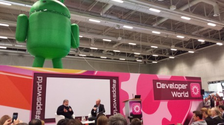 Steve Wozniak Apps World Berlin 2015